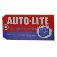 1964 - 1972 Mustang Autolite Sta-Ful Battery Tag