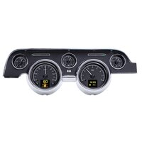 1967 - 1968 Ford Mustang HDX Instruments - Black