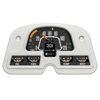 1962 - 1984 FJ Landcruiser RTX System, OE Style Face, Multi Colour Display