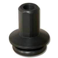 2005 - 2009 Mustang Shift Boot Retainer in Black Anodized.
