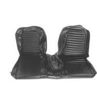 1964 - 1965 Mustang Front Bench Seat Upholstery (Black)