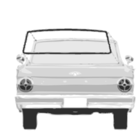 1960 - 1965 Falcon Ranchero Rear Window Seal