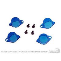 1964 - 1966 Mustang Instrument Panel Light Filters - Blue