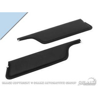 67-68 Convertible Sun Visors (Light Blue)