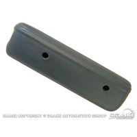 1968 Mustang Deluxe Arm Rest Pad (Blue, RH)