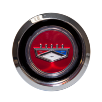 1969 - 1973 Ford Magnum 500 Hub Cap Ford Crest Red