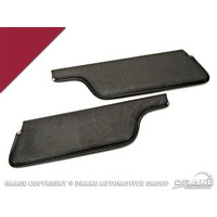 69-70 Sun Visor (Dark Red)