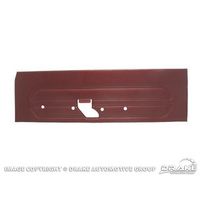 1969 Mustang Standard Door Panels (Dark Red)
