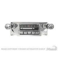 1964-66 Slidebar AM/FM Radio w/aux.Inputs
