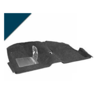 1965 - 1968 Mustang Convertible Molded Carpet Kit (Dark Blue)