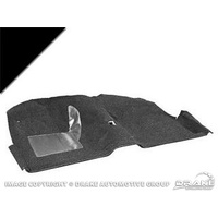 1969 - 1970 Mustang Fastback Molded Carpet Kit (Black)