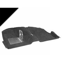 1971 - 1973 Mustang Convertable Molded Carpet Kit (Black)
