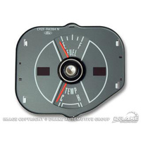70 Mustang fuel/temp gauge-gray