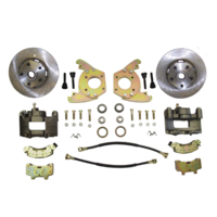 "1964 - 1966 Mustang Disc Brake Conversion Kit (6 cylinder, 5 lug, single piston calipers, will not fit original 14""x5"" standard steel rims)"