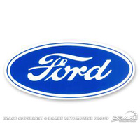 "6 1/2"" Ford Blue Oval Decal"