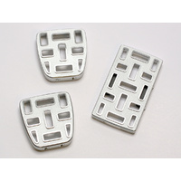 2007-13 FJ Billet Pedal Covers (Manual, 3pc)