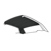 63-65 Falcon Headliner Hard Top (Black)