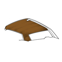 65-70 Coupe Headliner (Saddle)