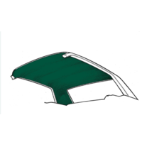 1971 - 1973 Mustang Fastback Headliner (Dark Green)