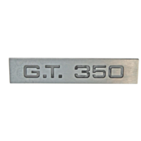 1965 - 1966 Mustang GT 350 Tail Light Panel Emblem