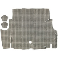 1964 - 1966 Mustang Coupe Convertible Trunk Mat (Plaid)