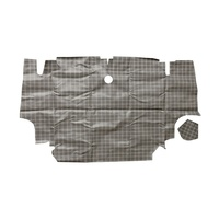 1964 - 1966 Mustang Fastback Trunk Mat (Plaid)