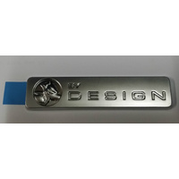 Genuine Holden By Design Emblem, Satin Chrome HSV VY
