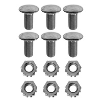 1964 - 1966 Mustang Shock Tower to Cap Bolts & Nuts