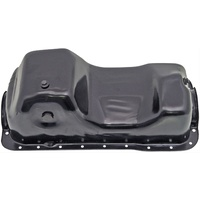 1984 - 1995 Mustang Small Block Painted Oil Pan (Black)