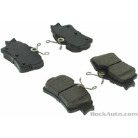 1994 - 2004 Mustang Semi - Metallic Rear Disc Brake Pads 3.8 4.6 5.0 GT Cobra - with Hardware