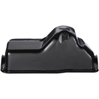 1980 - 1998 Bronco F Truck 5.0 Small Block Painted Oil Pan (Black)