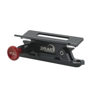 Quick Release Fire Extinguisher Mount - Black