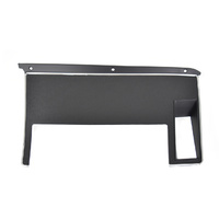 1971 - 1973 Mustang Dash Trim, Black Camera Case Finish