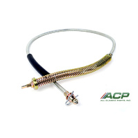 1969 - 1970 Mustang Parking Brake Cable, Front OE Correct