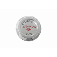 2015 - 2019 Mustang Billet Washer Reservoir Cap with Pony Logo