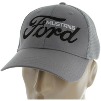 Ford Mustang Logo Hat (Grey)