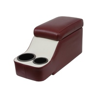 1964 - 1973 Mustang Classic Console - The Humphugger (66-67 Dark Red and White)