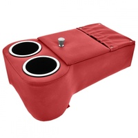 Classic Console - Low Rider Floor Console (Bright Red)