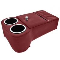 Classic Console - Low Rider Floor Console (Dark Red)