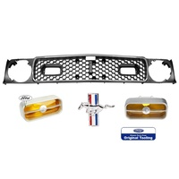 1971 - 1972 Mustang Grille Kit - Mach 1
