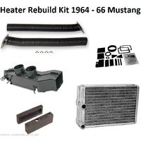 1964 - 1966 Mustang Heater Box Rebuild Kit