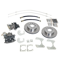 "1964 - 1973 Mustang Rear Disc Brake Conversion Kit 31sp 9"" Differential (Big Bearing)"
