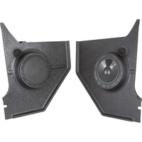 1964 - 1966 Mustang RetroSound Kick Panels with Premium Component Speakers Coupe & Fastback