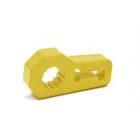 Daystar Hi Lift Jack Handle Anti Rattle Isolator Yellow