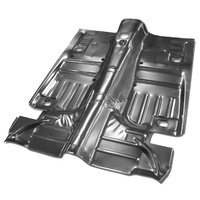 1964 - 1973 Mustang Complete Floor Pan (Convertible, includes lower pans)