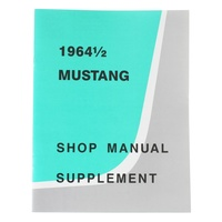 1964 Mustang Shop Manual Supplement