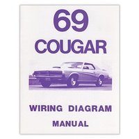 1969 Mercury Cougar Wiring Diagram