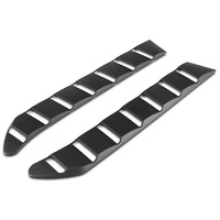 2015 - 2020 MP CONCEPTS S STYLE MUSTANG REAR WINDOW LOUVERS - MATTE BLACK