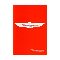 1955 Ford Thunderbird Owners Manual
