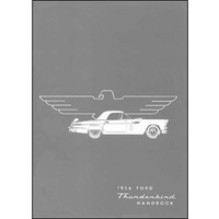 1956 Ford Thunderbird Owners Manual